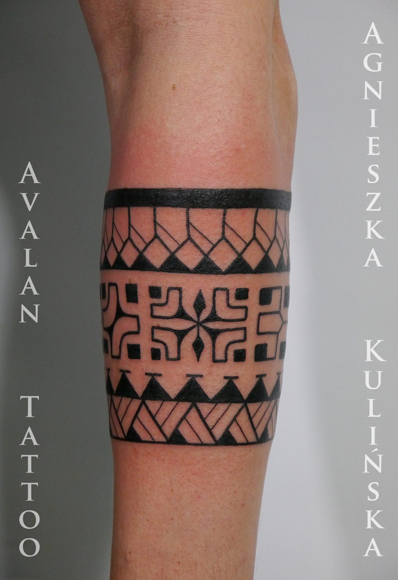 Opaska Markizyjska Avalan Tattoo