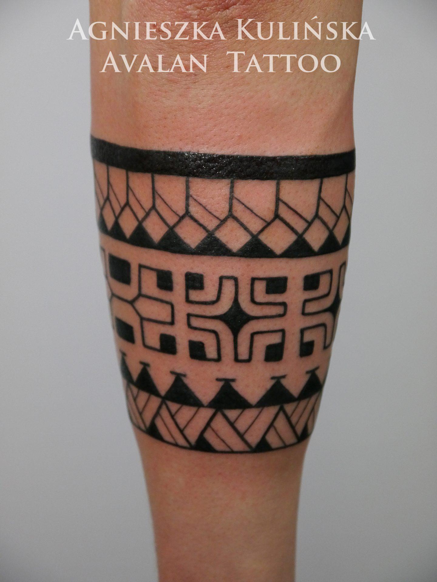 Opaska Na Przedramieniu Avalan Tattoo